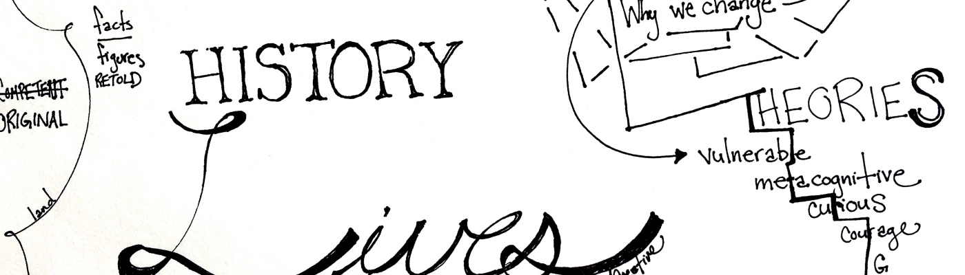 History Lives Sketchnote by @andCreative