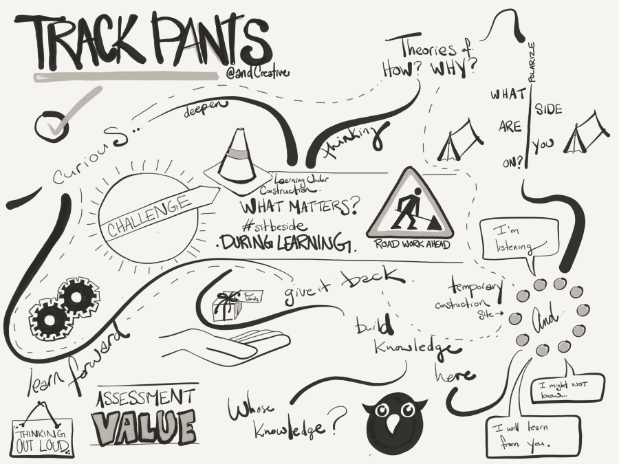 Track Pants Sketch