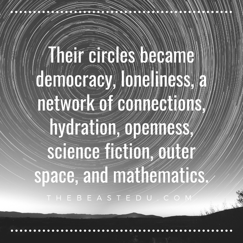 Their circles