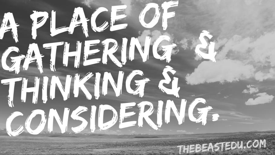 thinking gathering considering